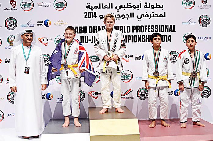 Abu Dhabi - david at podium